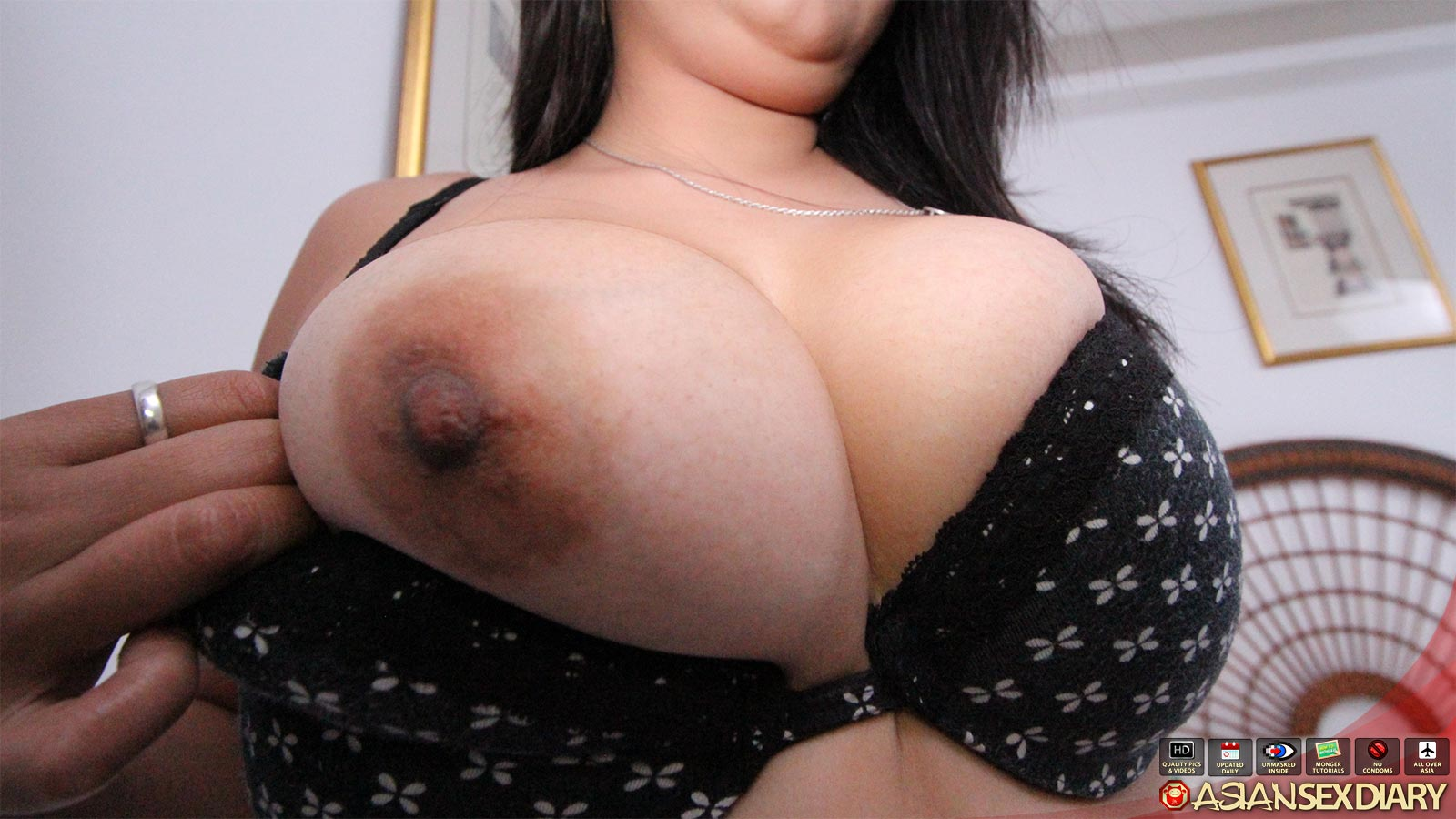 Amateur Big Tits Asian Doggy