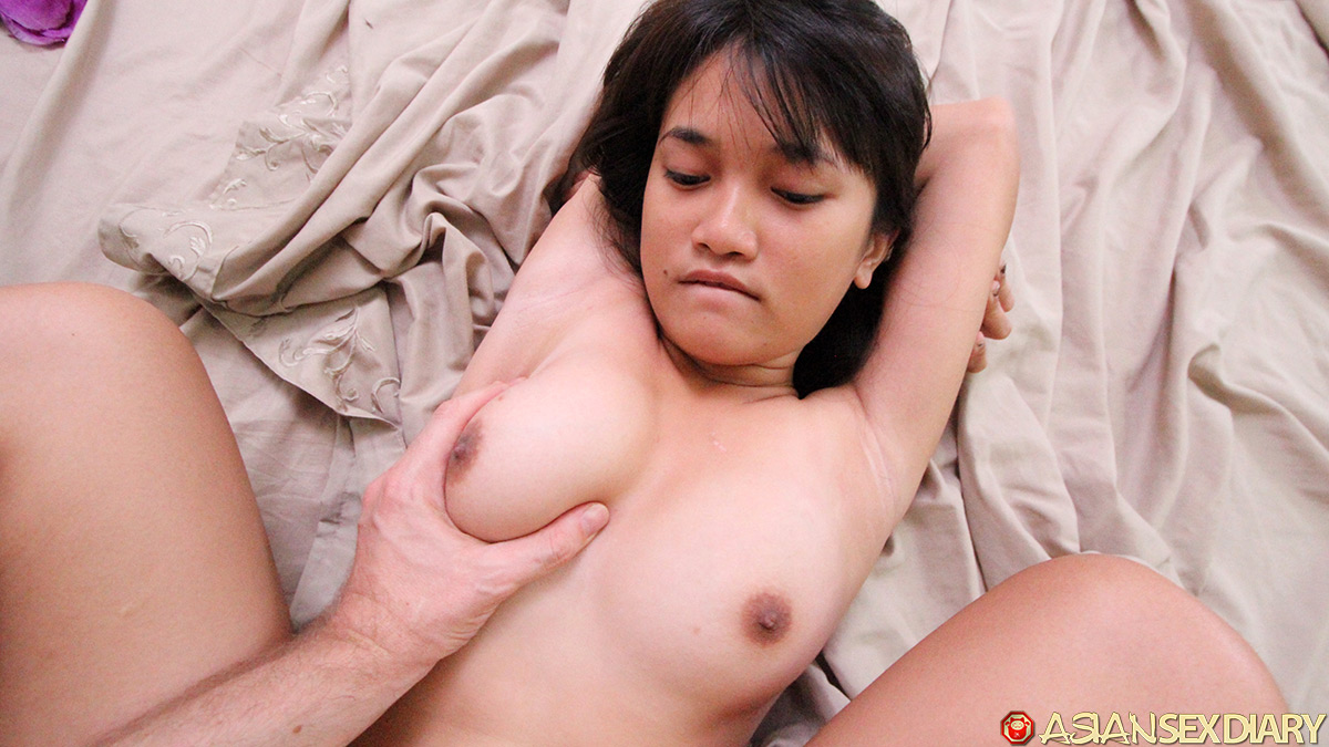Asian cutie picked up doggy style fuck 6