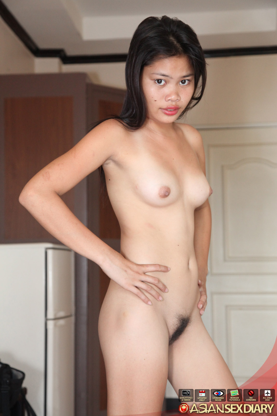 Asian girl filipino girl suck my black cock